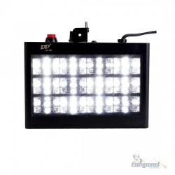 Strobo Flash 12 Led 15w Sensor Rítmico Luz Branca Automático